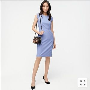 J. Crew Resume Dress Stretch Ponte